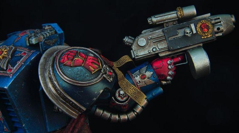 Crimson fists 1st company captain