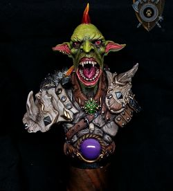 Goblin Warrior Βust (Shieldwolf Miniatures)