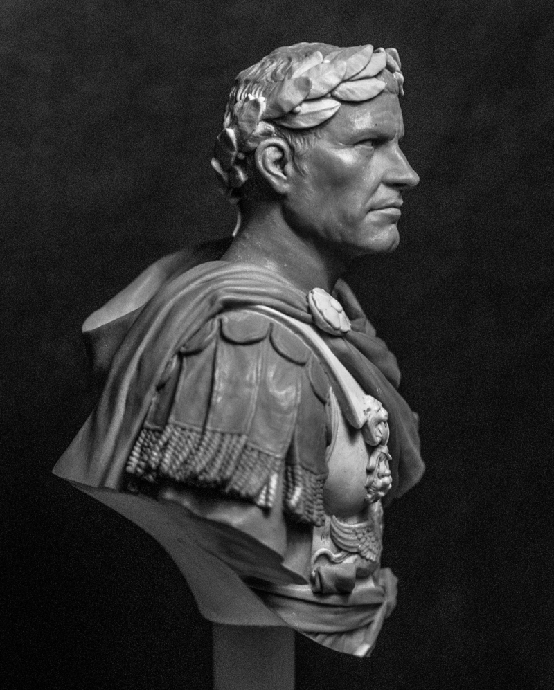 gaius julius caesar When gaius julius caesar was born, the leading man in rome was gaius marius, who had saved the roman republic several years before by defeating two germanic tribes, the teutones (102) and.