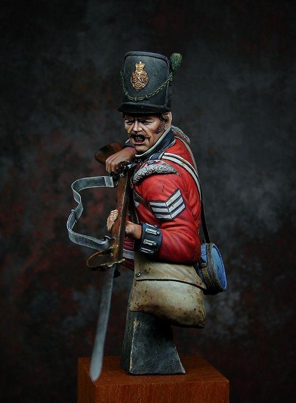 Sergeant Sharpshooters 5th Line Battalion Kgl Waterloo