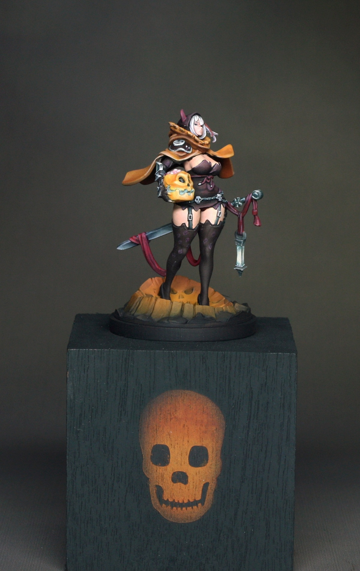 How Much Is A Paint Job >> Halloween Twilight Knight by Scott Hockley · Putty&Paint