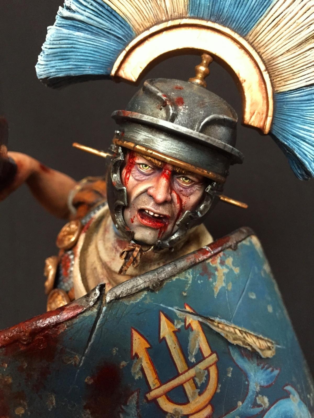 roman centurion legio xi claudia pia fidelis by