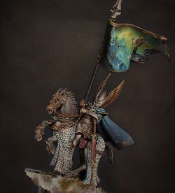 High elf prince Standard bearer