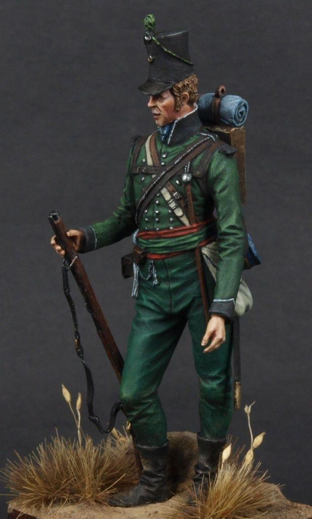 Sgt Rifle Bgde 95th Rgt Of Foot Coruna 1809 By Robert
