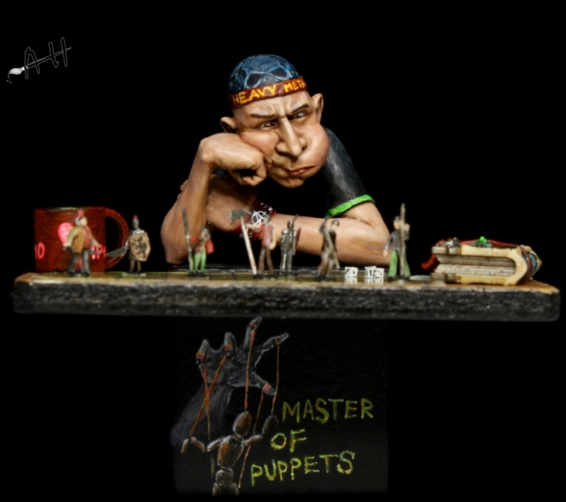 MASTER OF PUPPETS - Scale 1/12 - (2016)