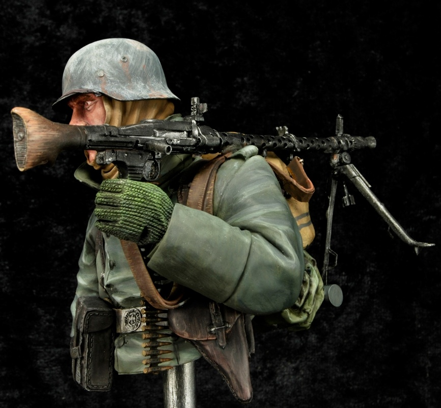Mg A For Sale >> MG 34 Gunner by Degryse Jan · Putty&Paint