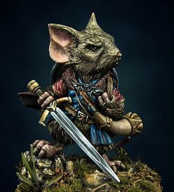 Boromouse - warrior of Mouse Thirith (Tail Brotherhood)