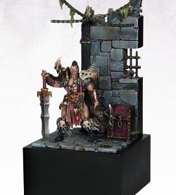 Warhammer Quest: Silver Tower - Darkoath Chieftain