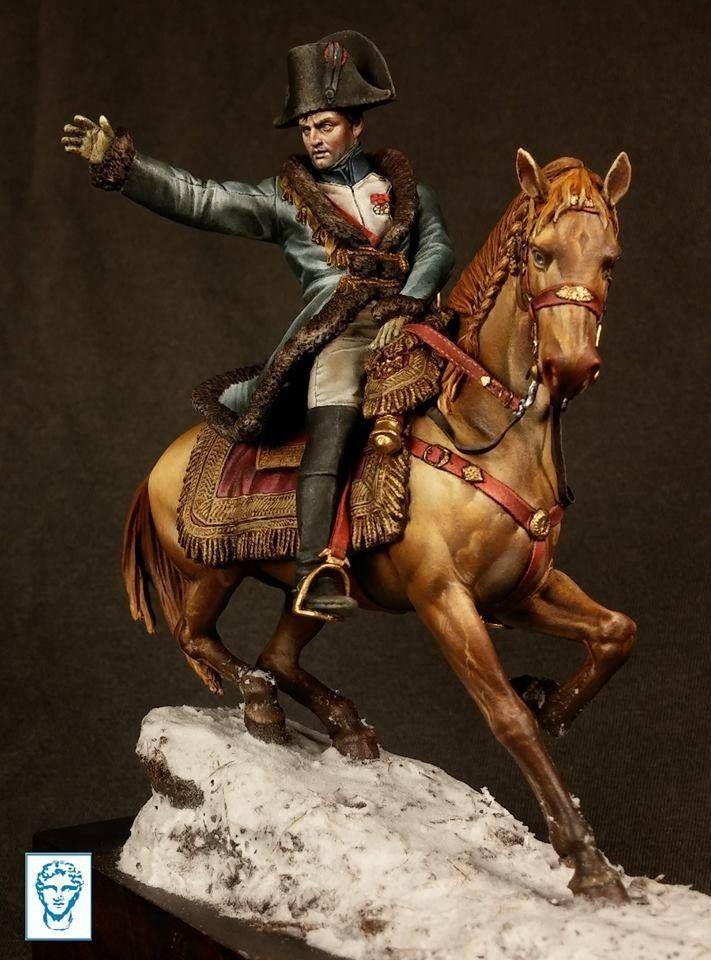 Napol on sur le champ de bataille d eylau 9 f vrier 1807 for Napoleon horse painting