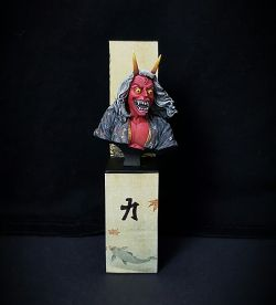 Oni Bust - Fire version