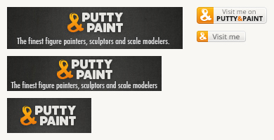 Putty&Paint banners