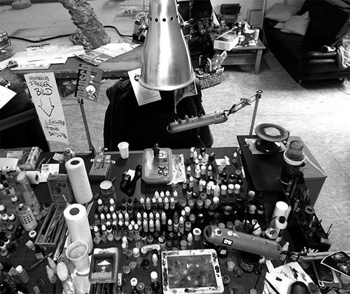 Roman Lappat's workspace