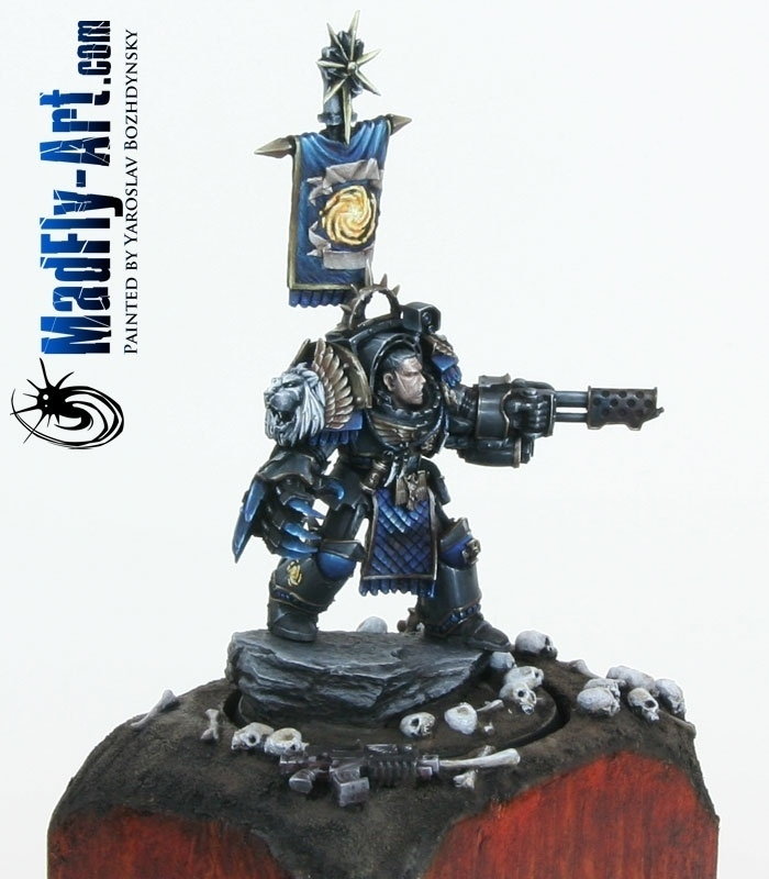 Lugft Huron Chapter Master Of The Astral Claws