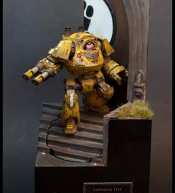 Imperial Fist Contemptor Cybot
