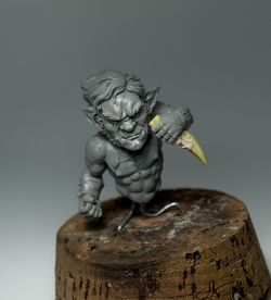 Gnome assasin - 1/12 Dungeon Madness bust