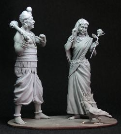 """braggart"",  scale of 75 mm, for Altores Studio"