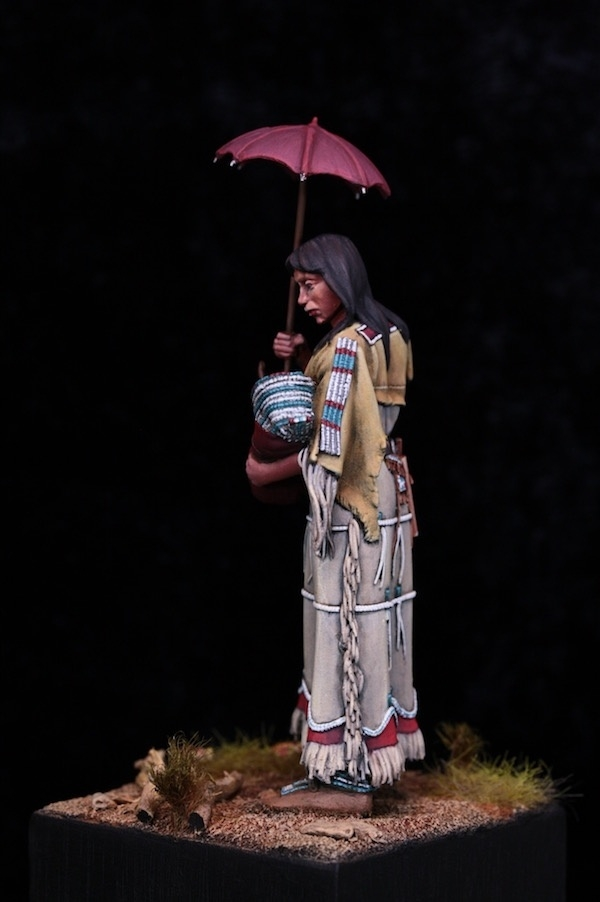 Native Cheyenne Woman
