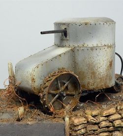 Curaisse Fortin Aubriot Gabet - WWI Prototype Tank - scratch build
