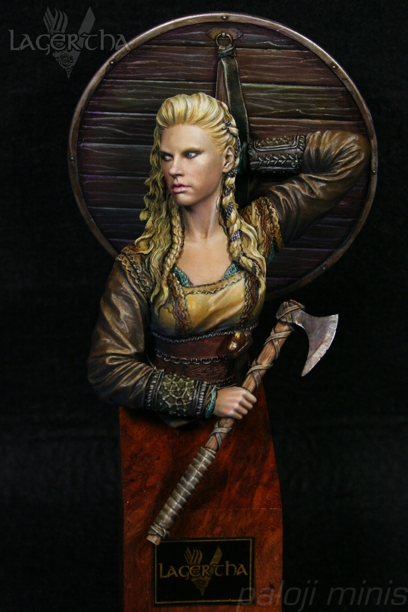 Lagertha Viking Warrior By Pablo L 243 Pez Paloji 183 Putty Amp Paint