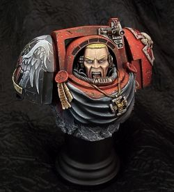 Blood angel terminator bust