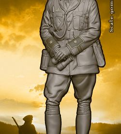 """ WAR HORSE "" North Somerset Yeomanry.Dolman Miniatures"