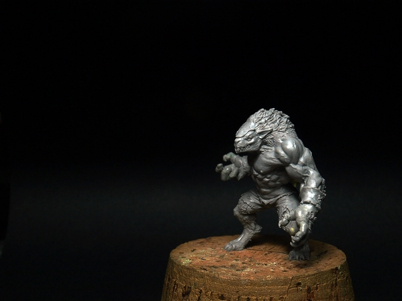 Ogre rat - Willy miniatures