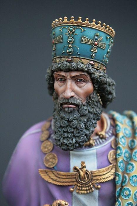 Khashayarsha Xerxes 480 BC by Michael Volquarts Putty