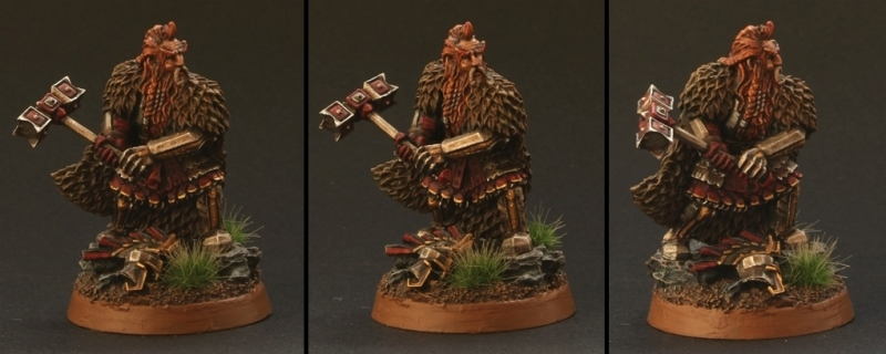 "Dain Ironfoot ""Lord of the Iron Hills"""