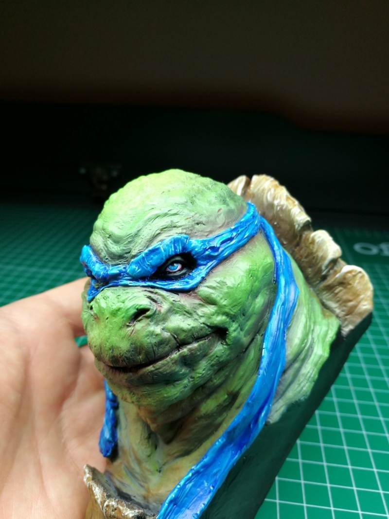 Teenage Mutant Ninja Turtle busts