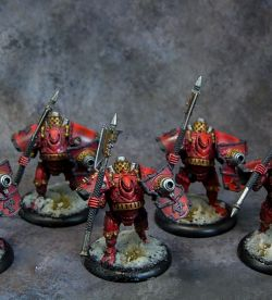 Khador Man O War Unit