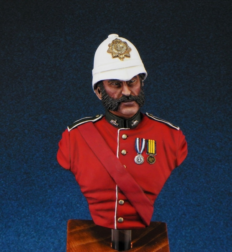 Colour Sergeant Bourne