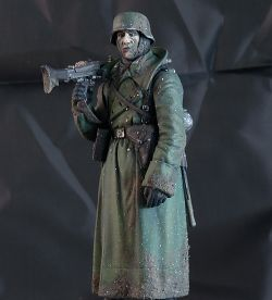 WWII German Machine Gunner