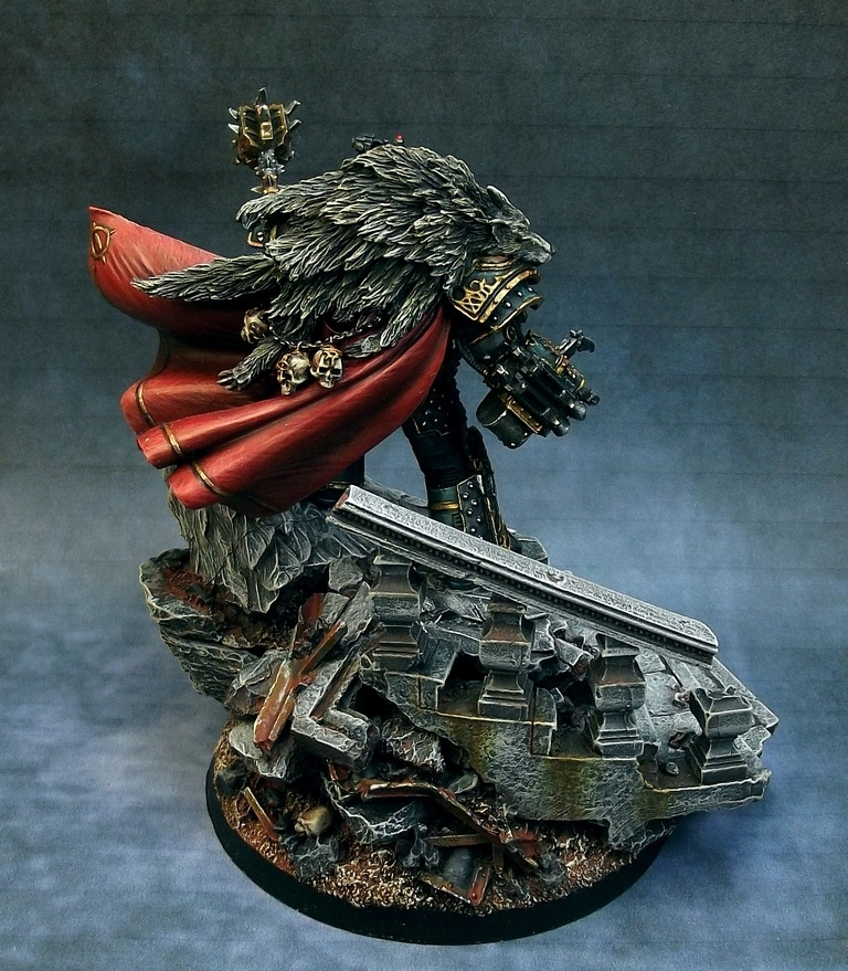 Horus the Warmaster Primarch of the Sons of Horus