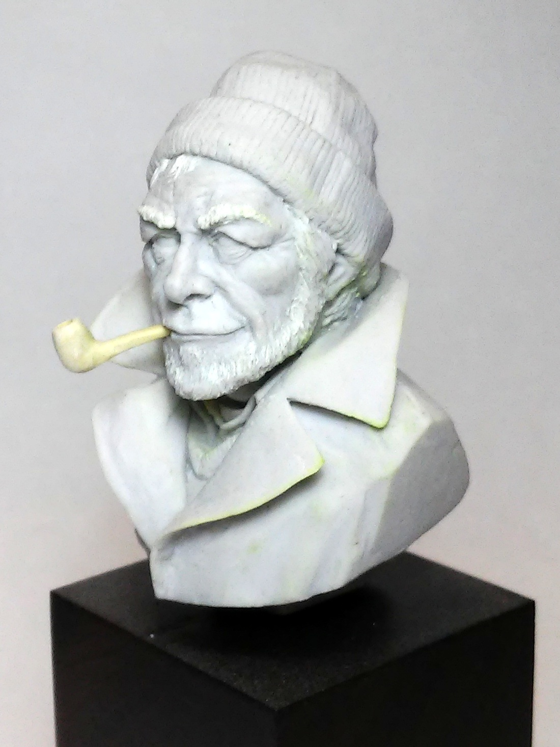 Old sailor by Jorge Budagosky · Putty&Paint