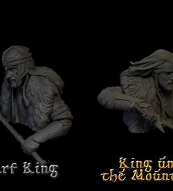 DWARF KING .Vs . KING UNDER THE MOUNTAIN