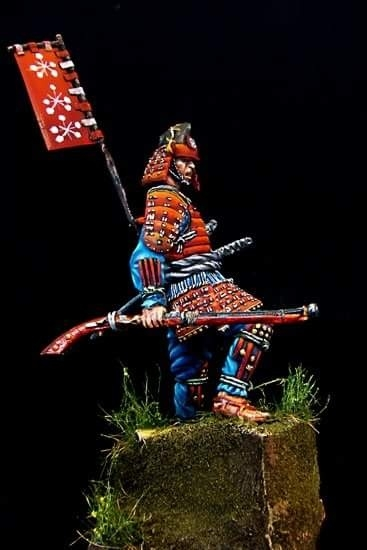 About >> Samurai Ashigaru Commander by Costas Rodopoulos · Putty&Paint
