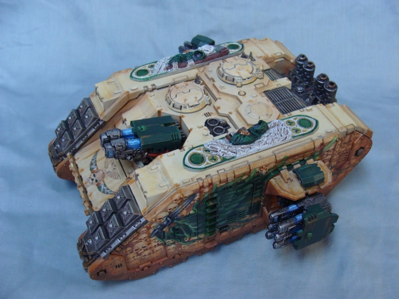 Dark Angels Warhammer 40k tank
