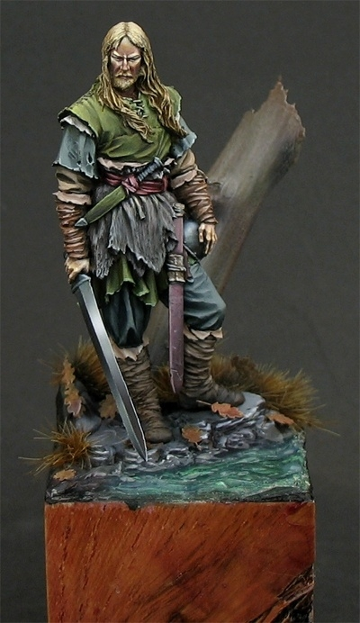 Saxon Chieftain 5th A C By Borja Garcia 183 Putty Amp Paint