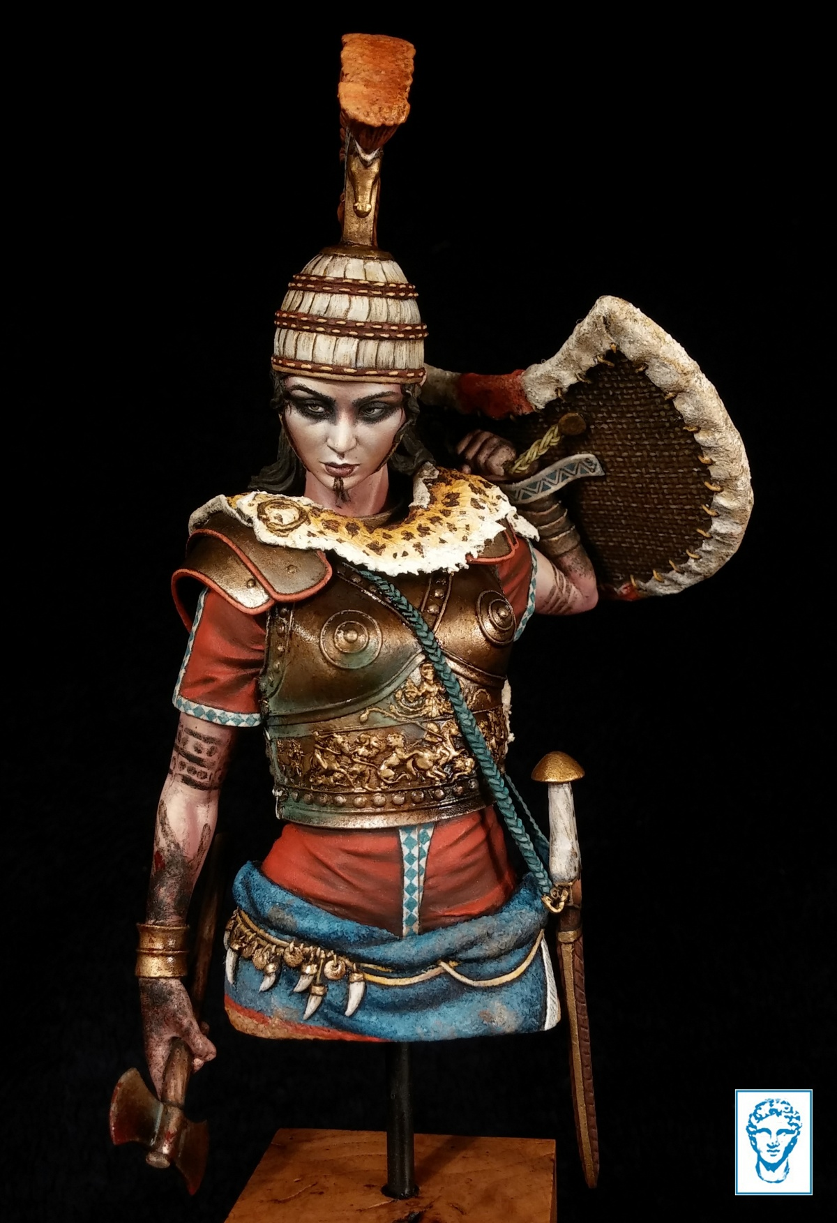Penthesileia Queen Of Amazons Trojan War Ca 1180 Bc