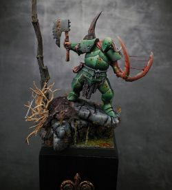 Nurgle warrior