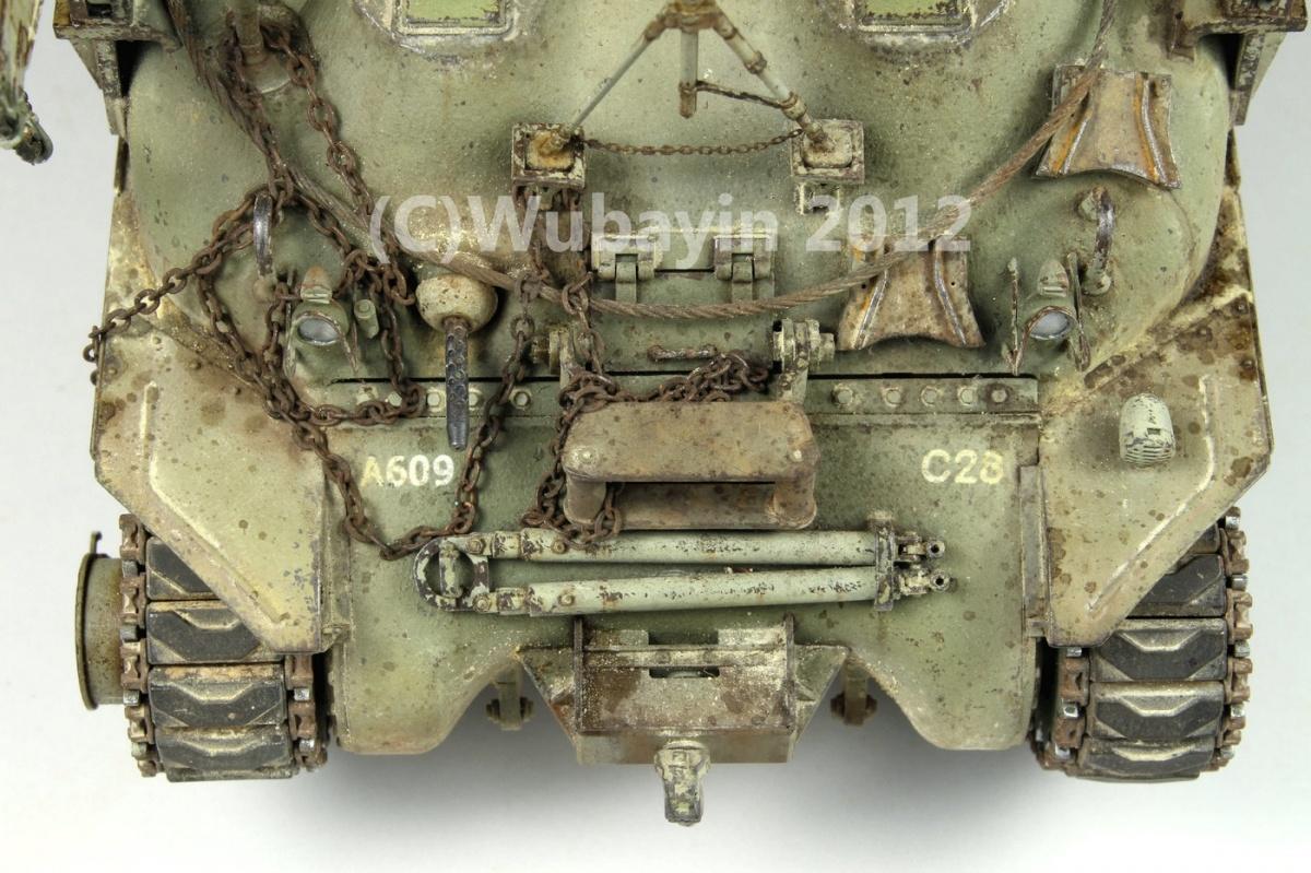 M32B1 tank recovery vehicle by Wu Bayin · Putty&Paint