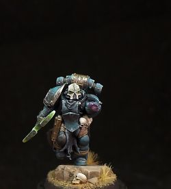 Iron Corpses Sorcerer (Chaos space marine sorcerer)