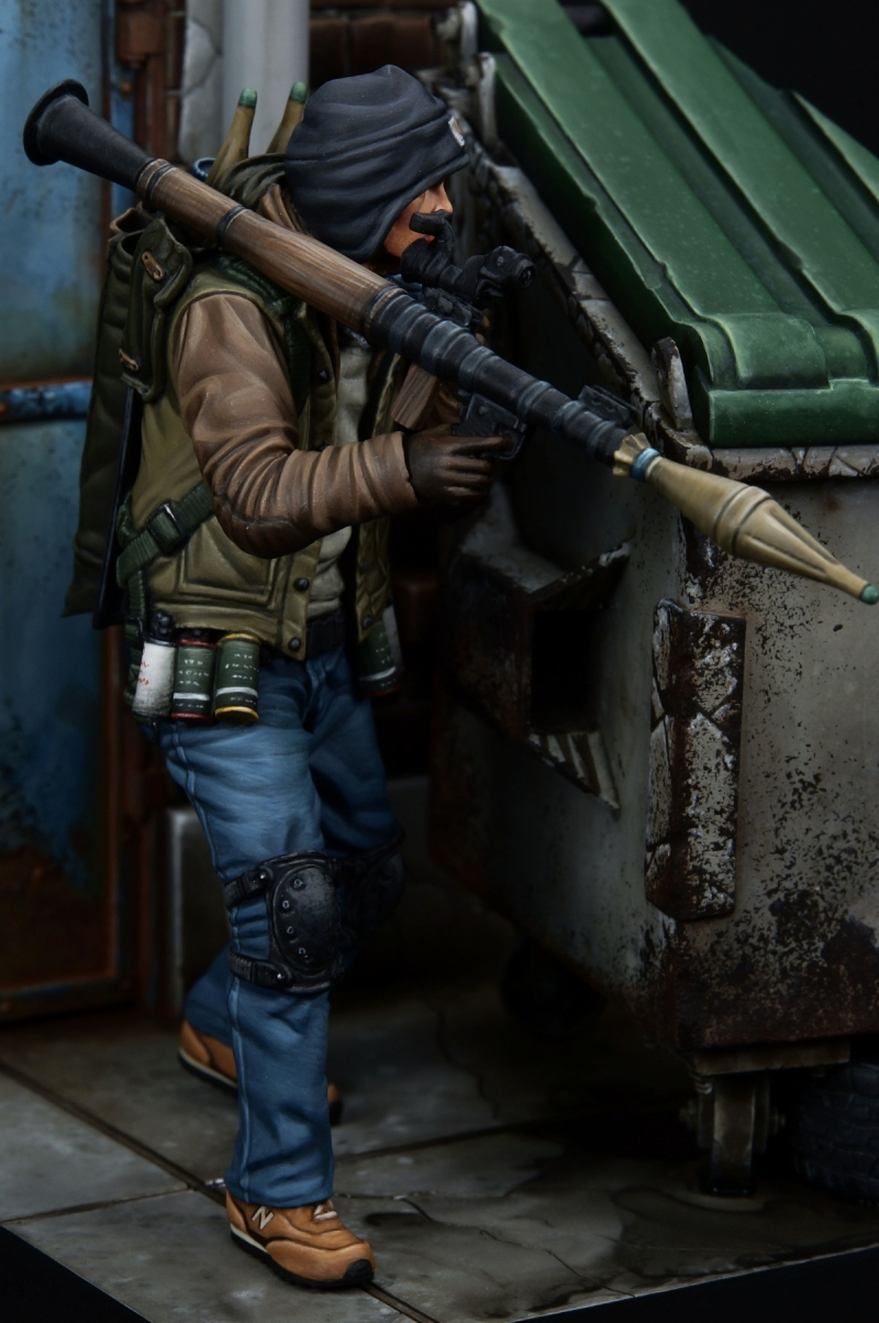 Rocket Launcher Gunner (1/24 75mm)