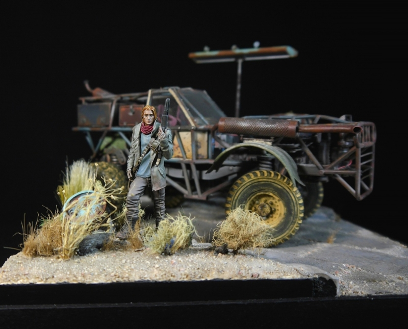 No gas today - Mad Max Diorama
