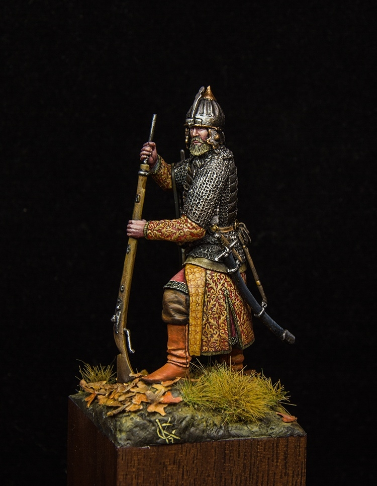 Russian musketeer, times of Ivan the Terrible