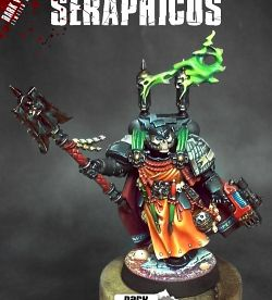 Interrogator Chaplain Seraphicus (Dark Vengeance Limited)