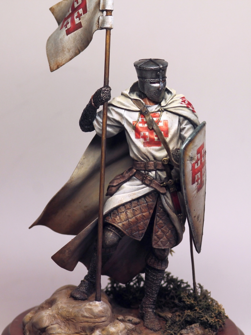 How Much Is A Paint Job >> Knight of the Holy Sepulcher figure by Olga Zernina · Putty&Paint