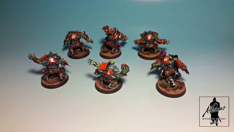 Orcs Team - Blood Bowl