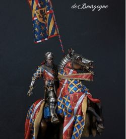 Rogues de Poix - Chambellan du Duc de Bourgogne - died at Azincourt 1415