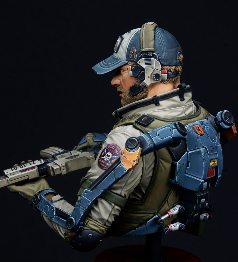 Exo Suit PMC (Ghost Company 1/10 Bust)